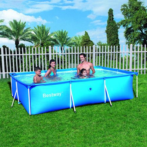 bestway piscina estructural rectangular deportes